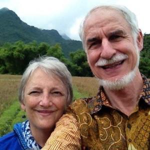 Paul and Esther at Mai Chau
